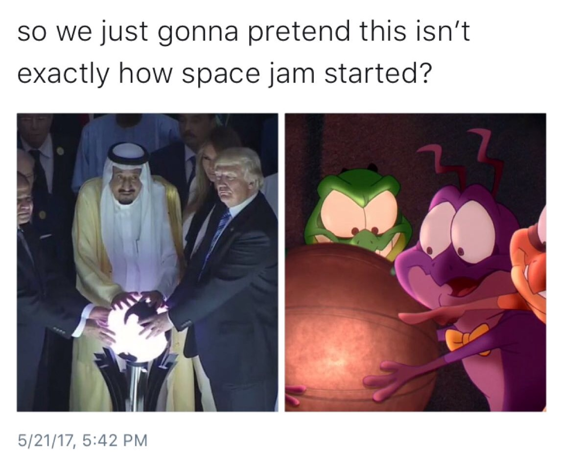 Come on and slam | Donald Trump's Glowing Orb | Know Your Meme