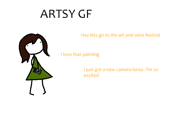 ARTSY GF Hey Lets Go To The Art And Wine Festival I Love That Painting