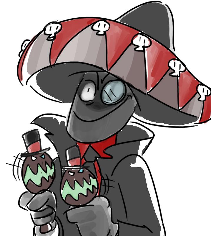 Sombrero Black Hat Villanos Know Your Meme