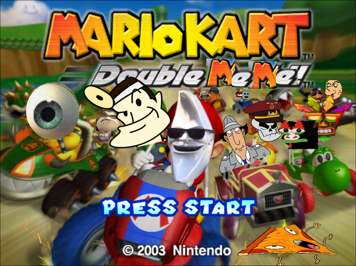 Mariokart Double Meme Meme Overload Know Your Meme
