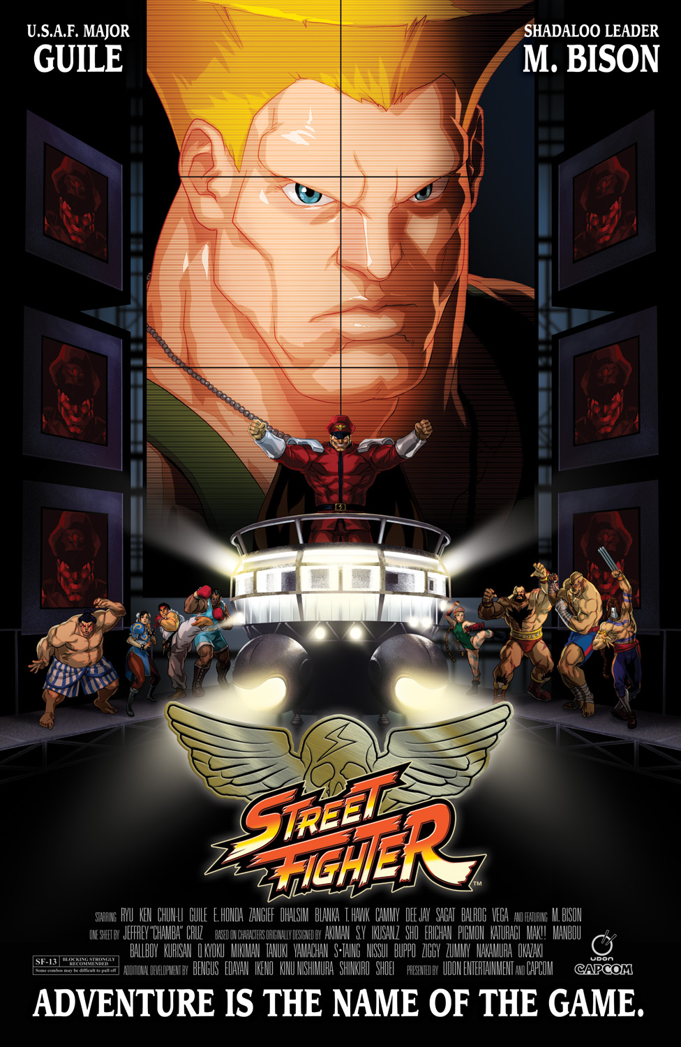Udon S Street Fighter Movie Homage Cover Street Fighter Know Your Meme