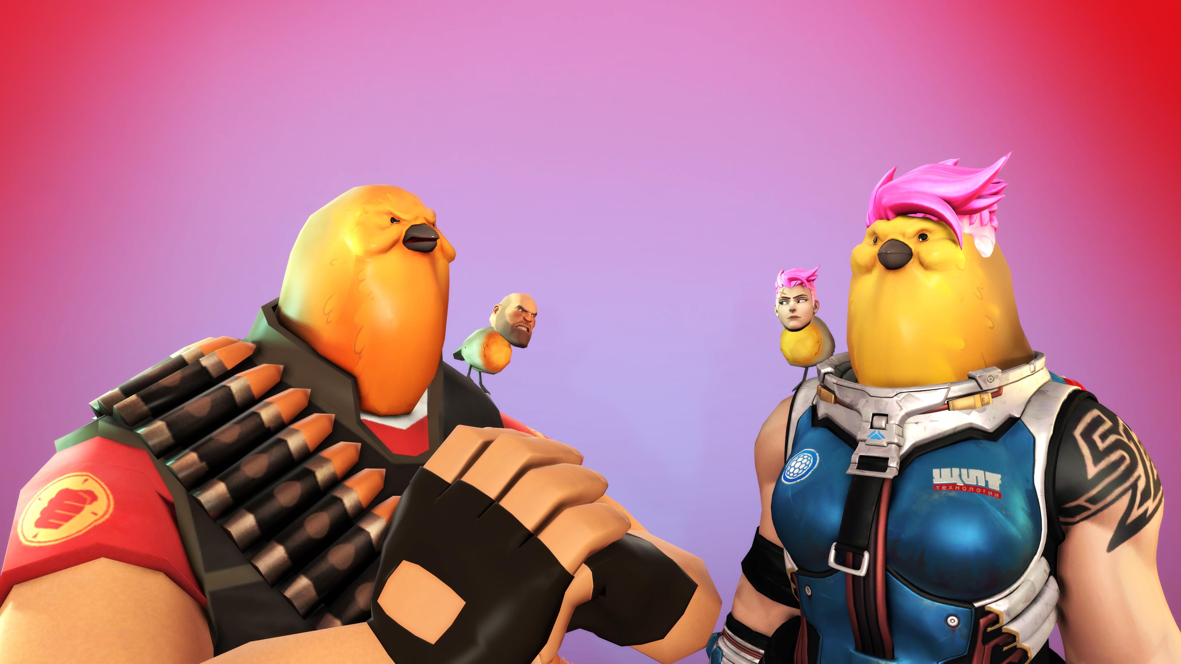 Hoovy Bird Overwatch Know Your Meme