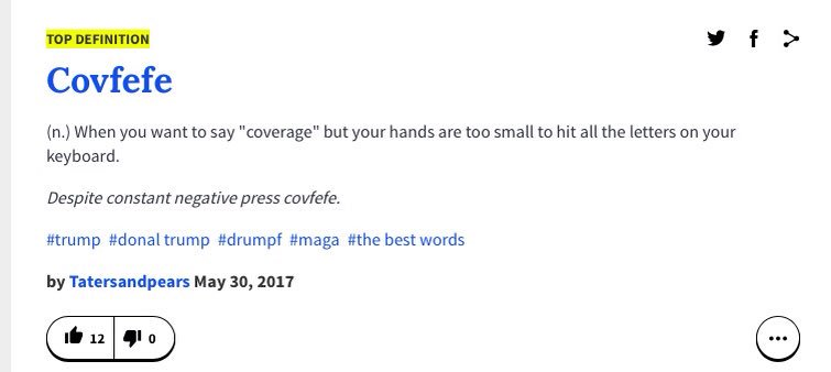 Urban dictionary is very fast | Covfefe | Know Your Meme