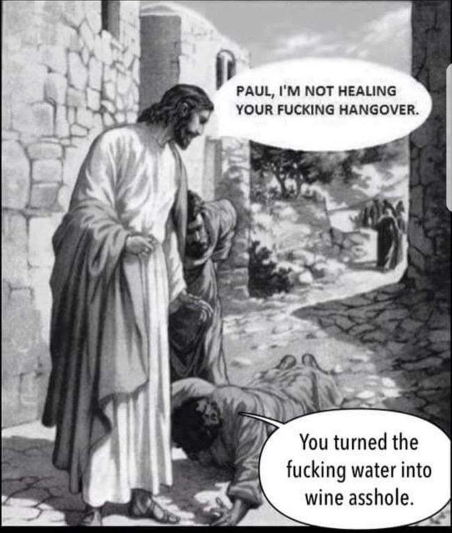 Hangover | Jesus | Know Your Meme