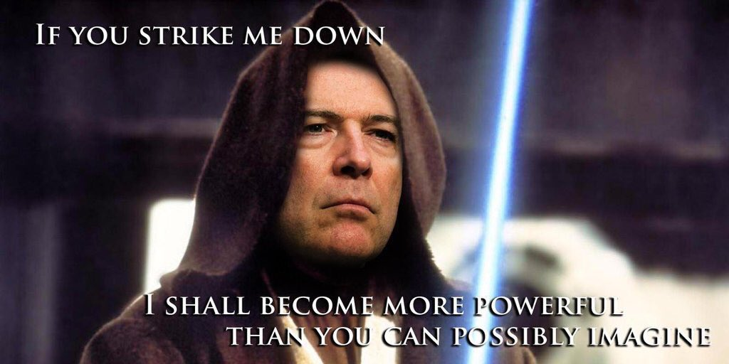 If You Strike Me Down Dismissal Of Fbi Director James Comey Know