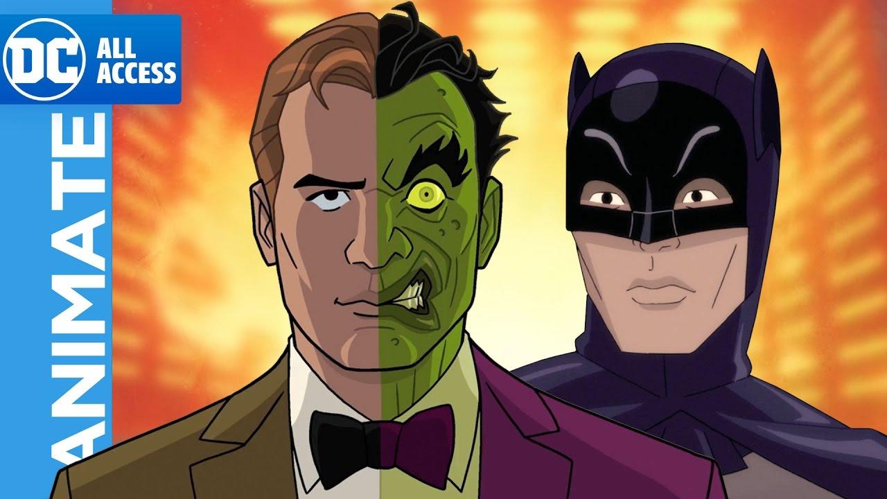 Batman Return Of The Caped Crusaders 2 Batman Vs Two Face Batman