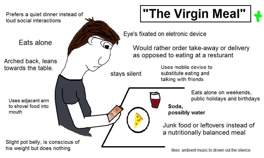 The broken virgin