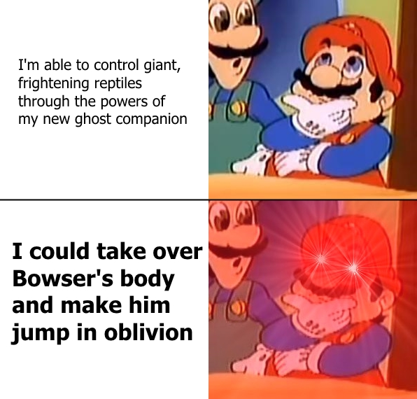 Ahah I M Relevant See Super Mario Odyssey Know Your Meme