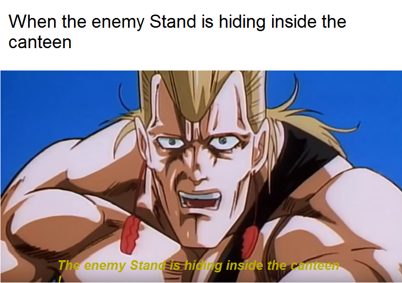 Notification Polnareff An Enemy Stand Is Hiding Inside The