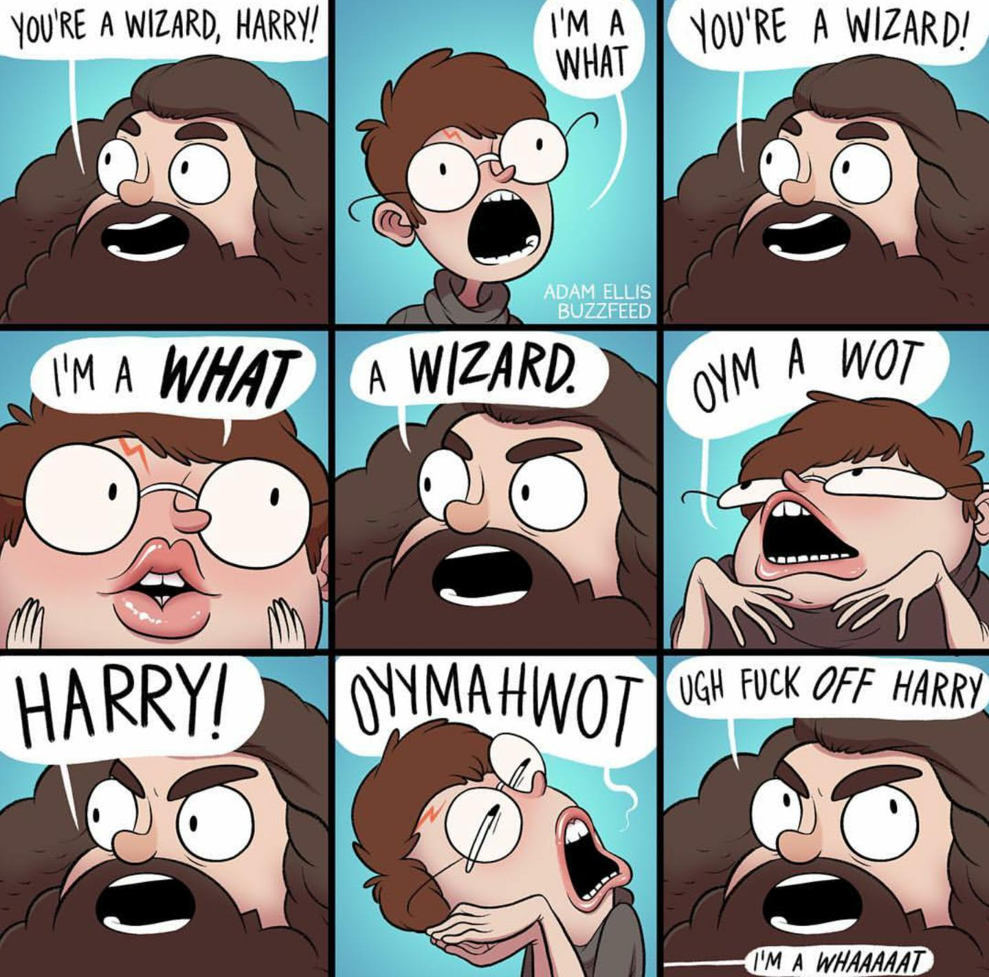 M A ORE WIZARD WHAT ADAM ELLIS BUZZFEED YMAH