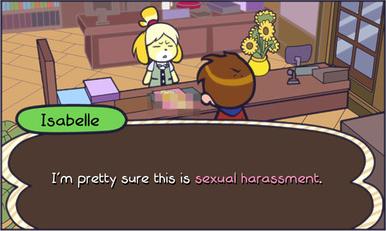 Human pokemon sexual harassment