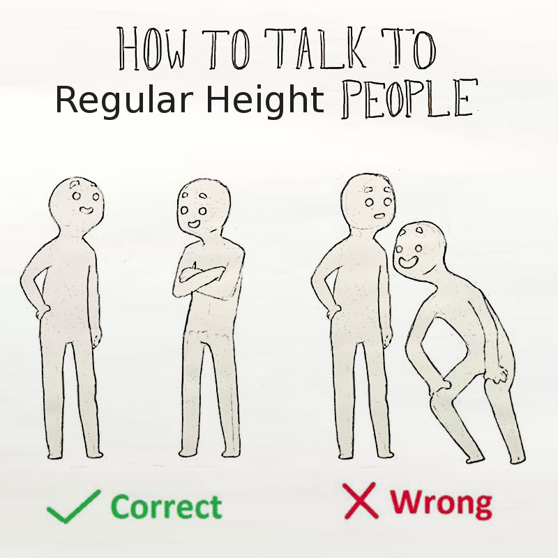 short height people