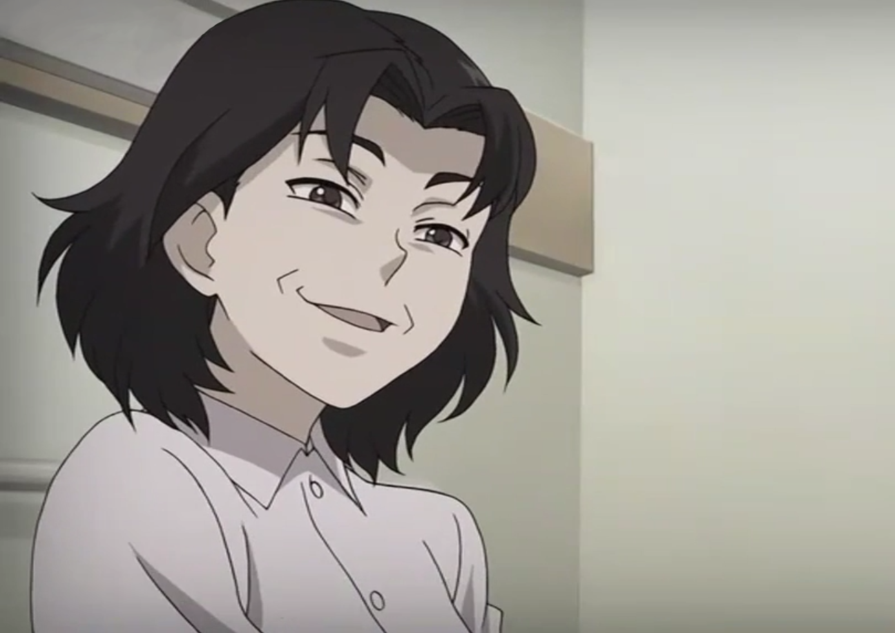 evil comes in all shapes smug anime face know your meme