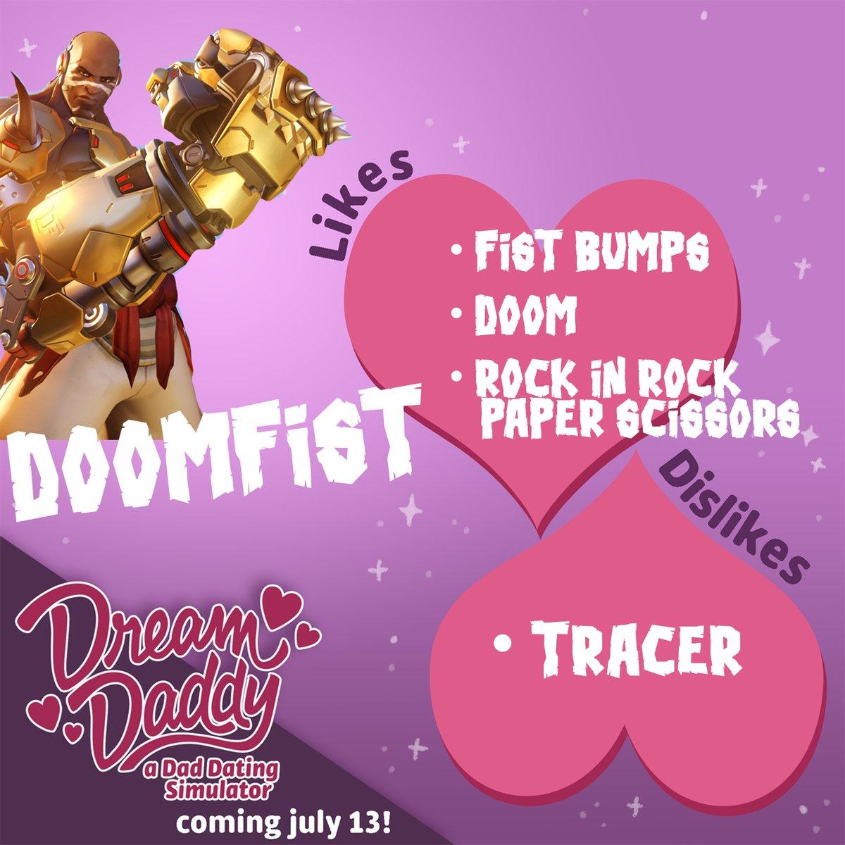 4fc666847bdaf Doomfist - Dream Daddy Doomfist