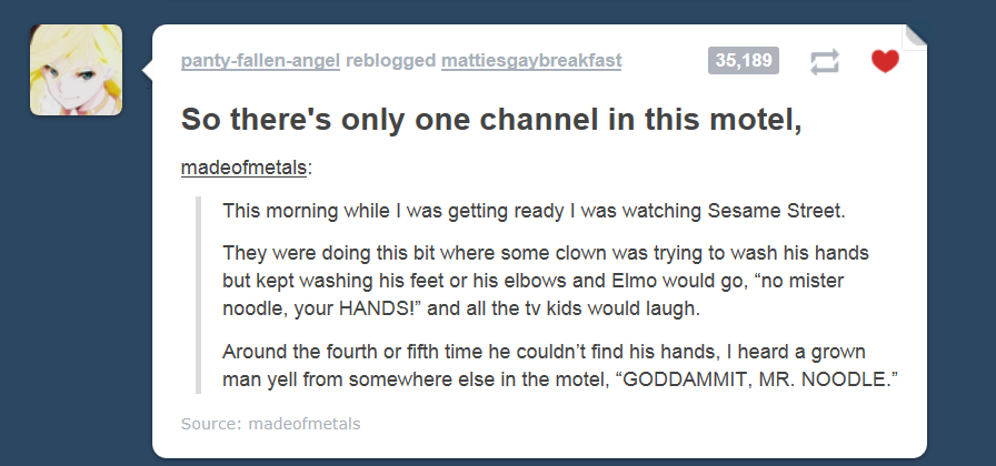 goddammit mr noodle tumblr know your meme