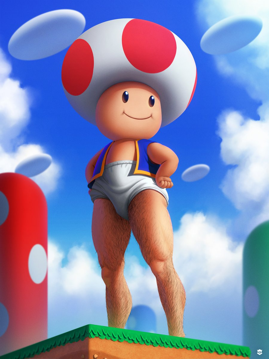 Toad By Marcos Lopez Super Mario Know Your Meme