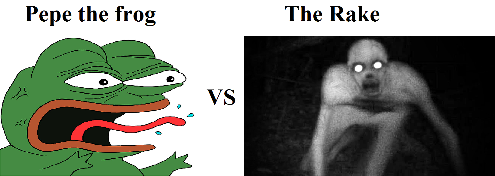 the two biggest internet myths who would win pepe the frog know