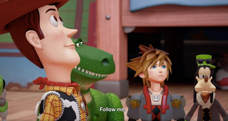 Toy Story World In Kh3 Kingdom Hearts Iii Know Your Meme