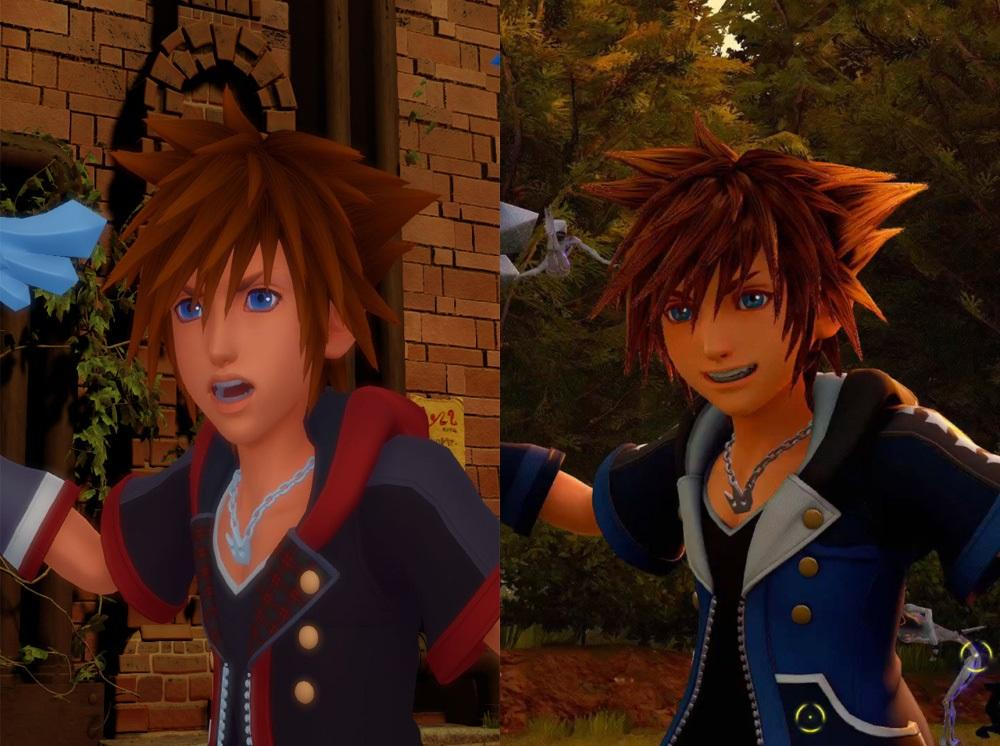 2015 sora vs 2017 sora kingdom hearts know your meme