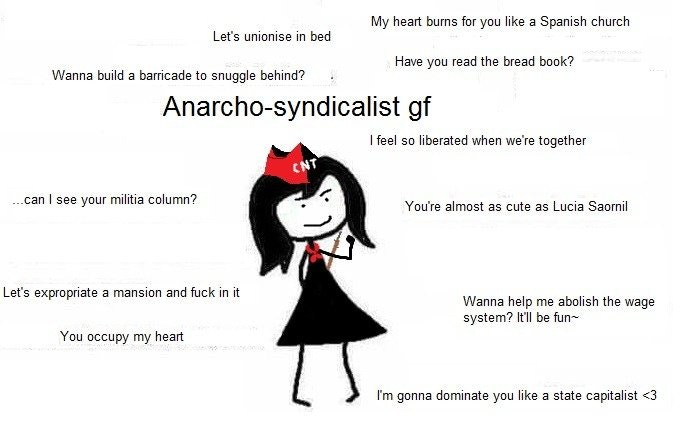 Anarchist GF | Ideal GF | Know Your Meme