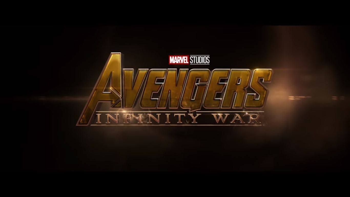 Avengers Infinity War Logo Only Marvel Cinematic