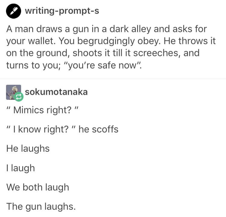 Why limit yourself to chests when it comes to mimics? | Tumblr ...