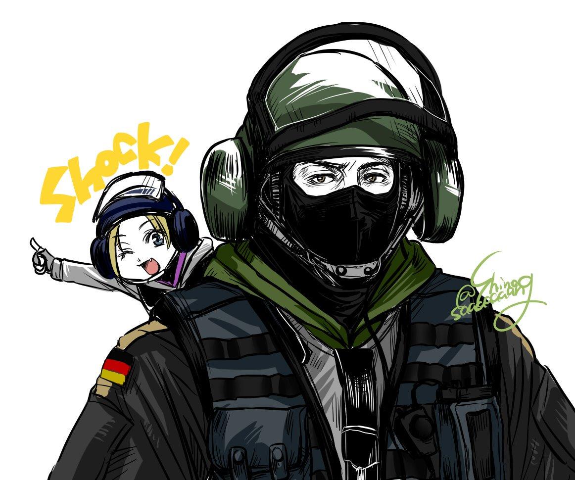 bandit and iq by shinosaaaaaaang rainbow six siege know your meme