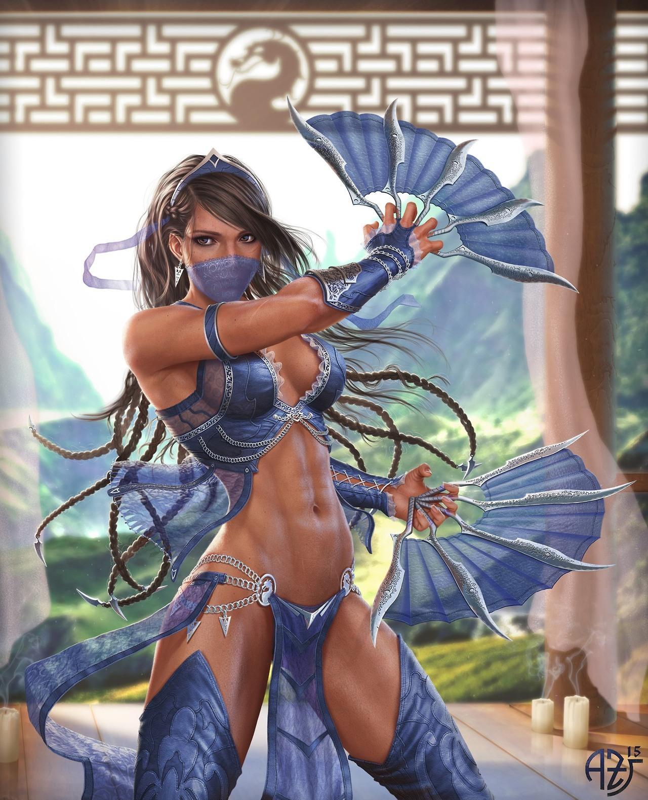 princess kitana mortal kombat