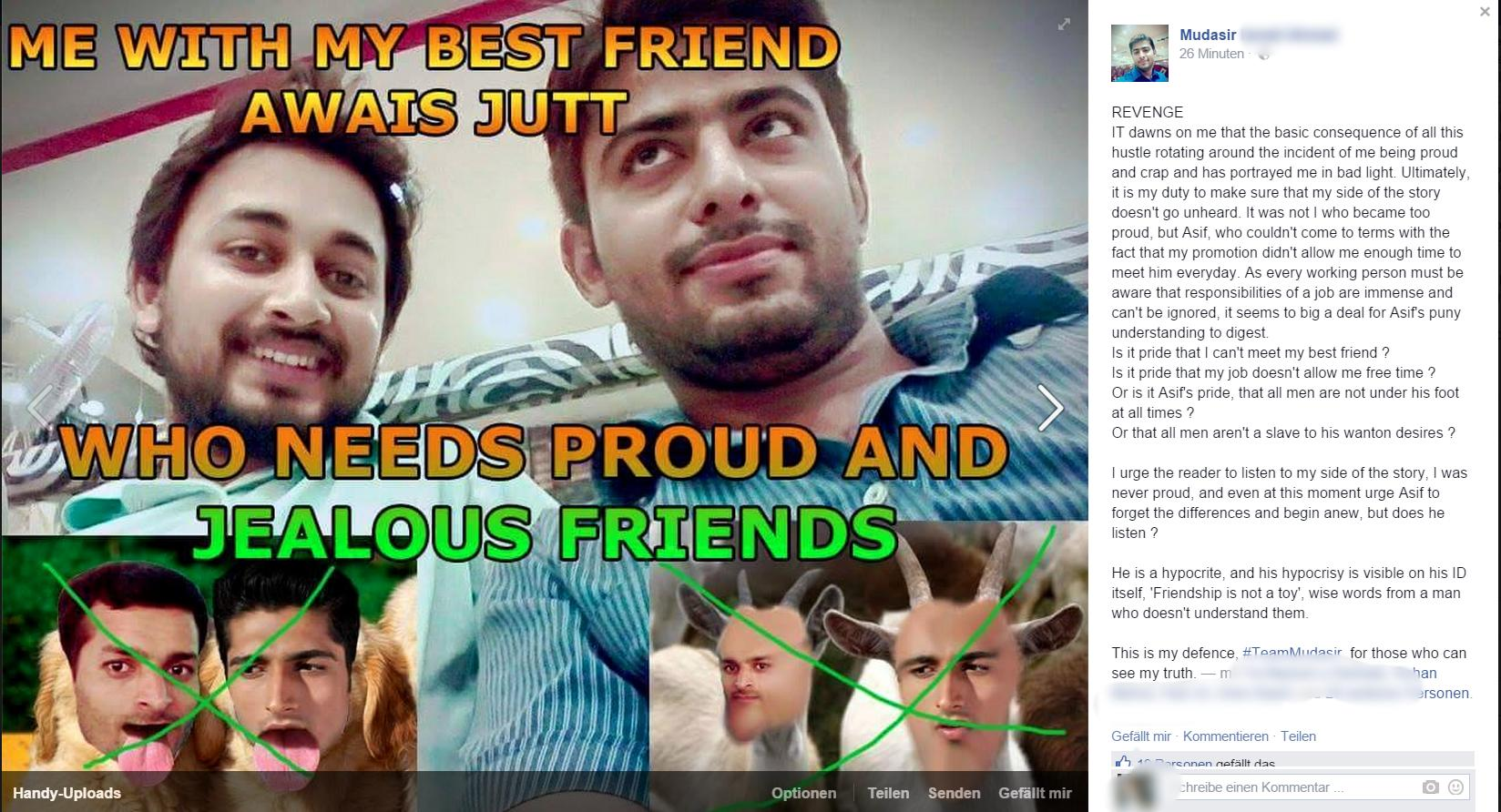 Image result for friendship With Mudasir