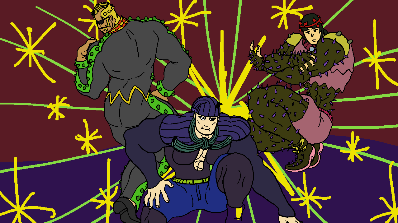 Rock Humans=Pillar Men 2 0 | JoJo's Bizarre Adventure | Know
