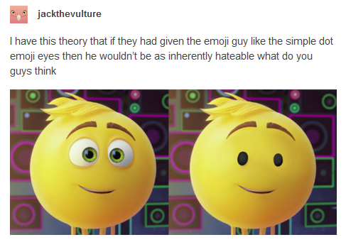 gene with different eyes the emoji movie know your meme