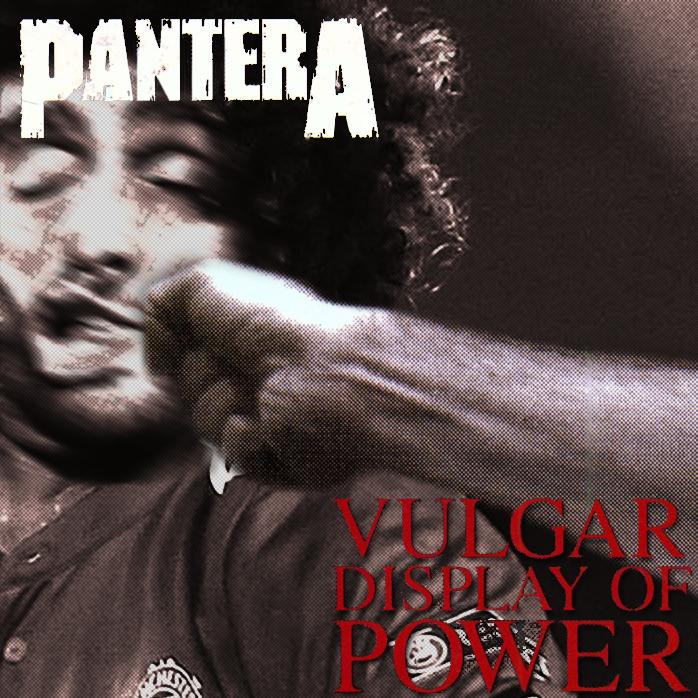 Pantera Vulgar Display Of Power Wallpaper