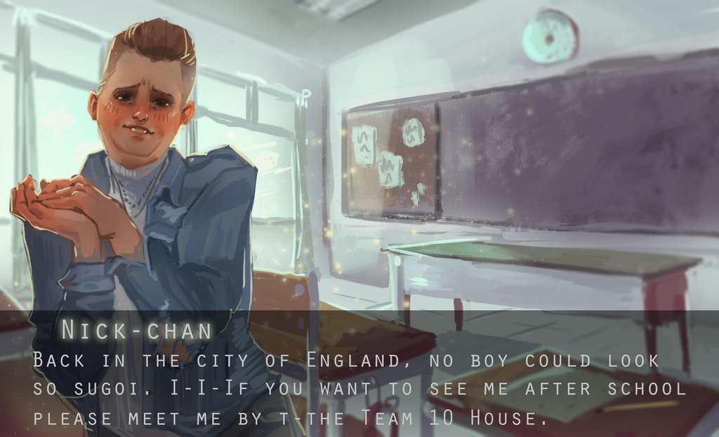 England dating sim