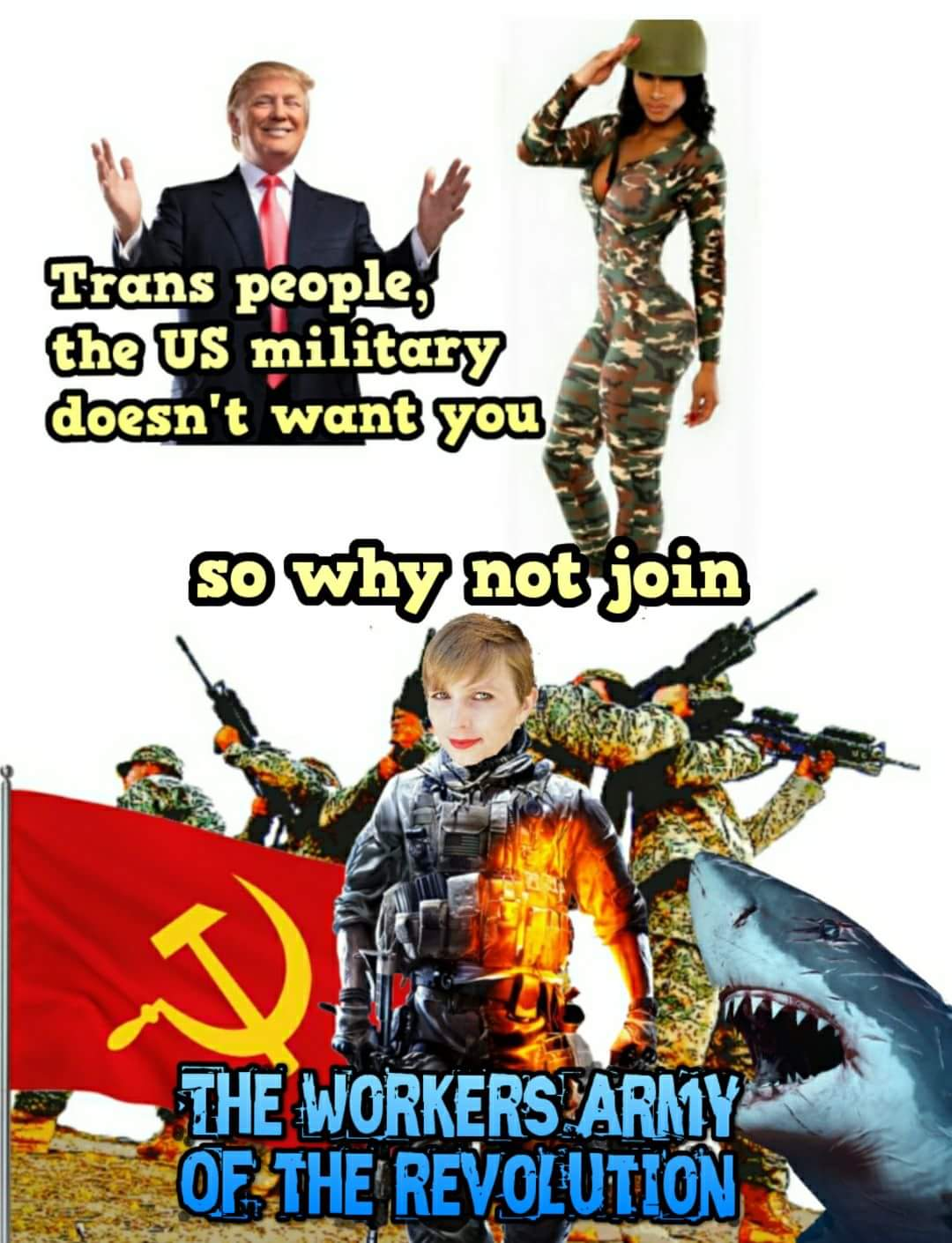 Sign Me Up Donald Trumps Transgender Military Ban Know Your Meme