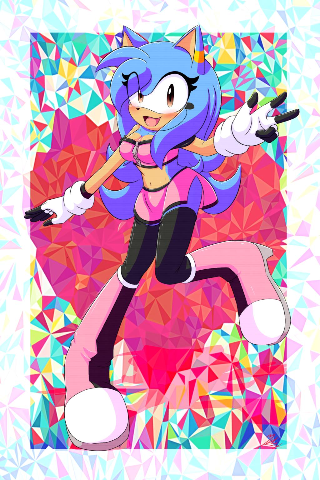 Gigi The Hedgehog Sonic Original Characters Know Your Meme