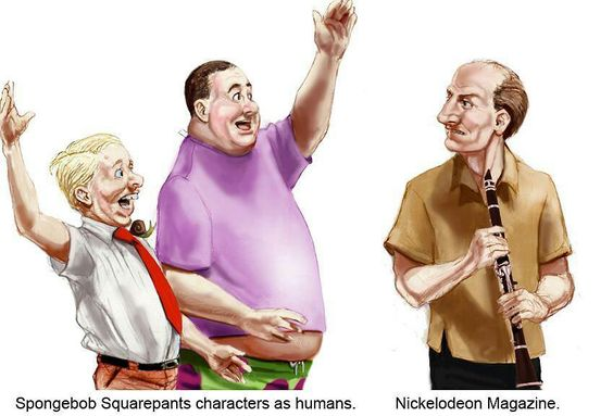 spongebob as a human spongebob squarepants know your meme