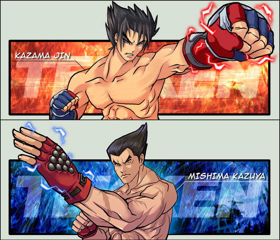Jin And Kazuya Tekken Know Your Meme