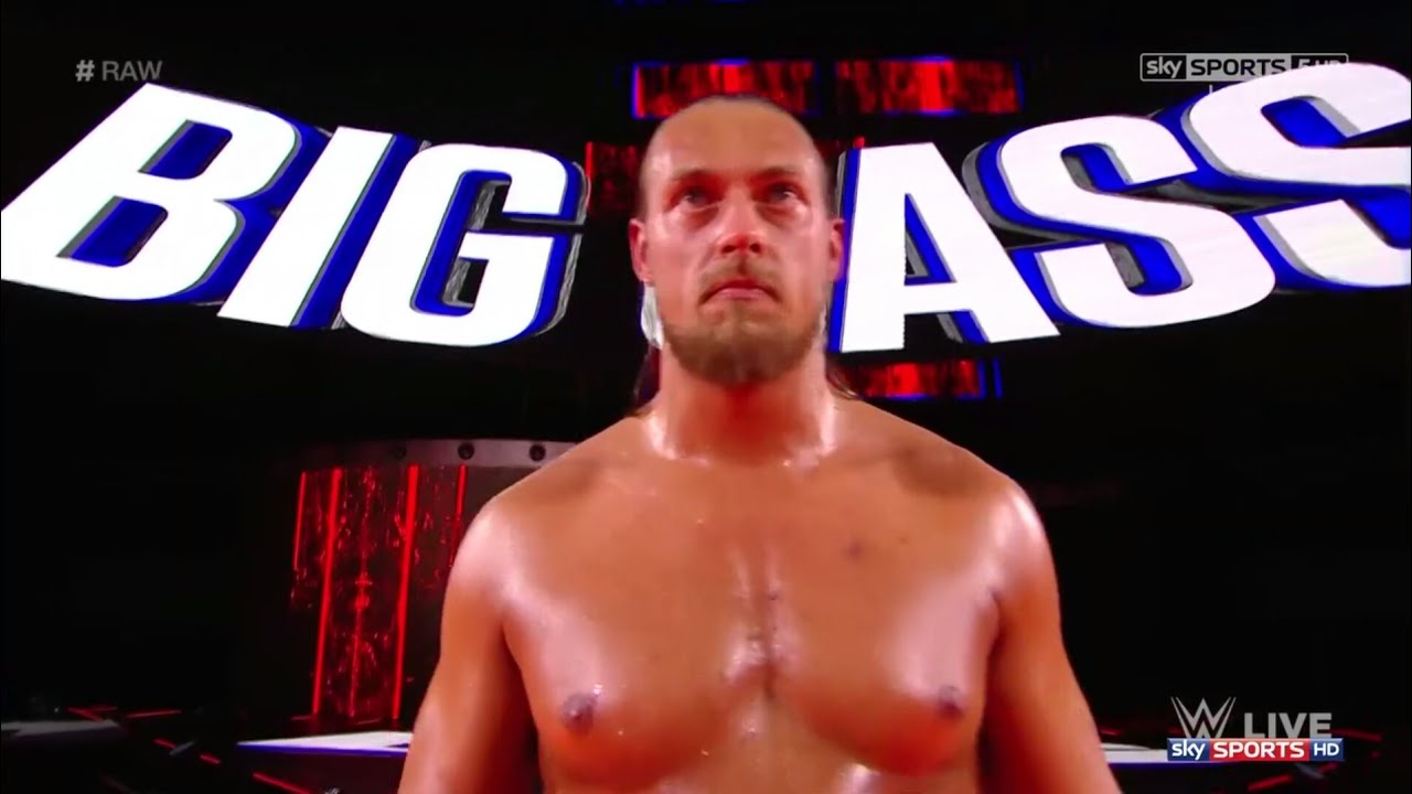 #RAW sky SPORTS sky Big Cass WWE Raw wrestler boxing glove male muscle  pradal serey
