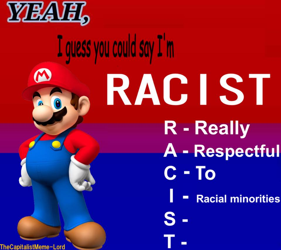 R A C I S T Bad Acronyms Know Your Meme