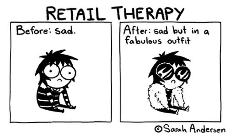 f62 retail therapy sarah's scribbles know your meme