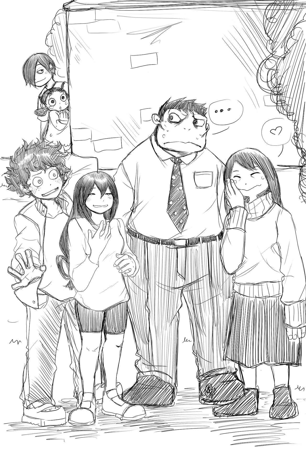 Tsuyu S Family My Hero Academia Know Your Meme