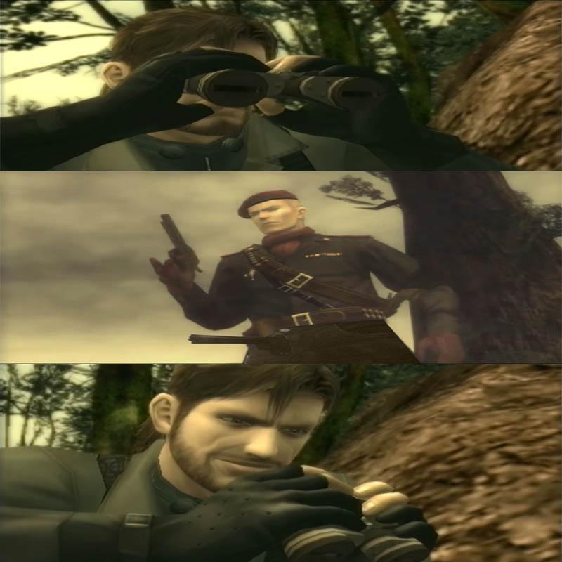 Naked Metal Snake Metal Gear Solid 3 Snake Eater Know