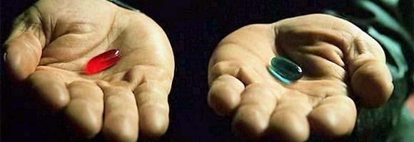neo red pill blue pill