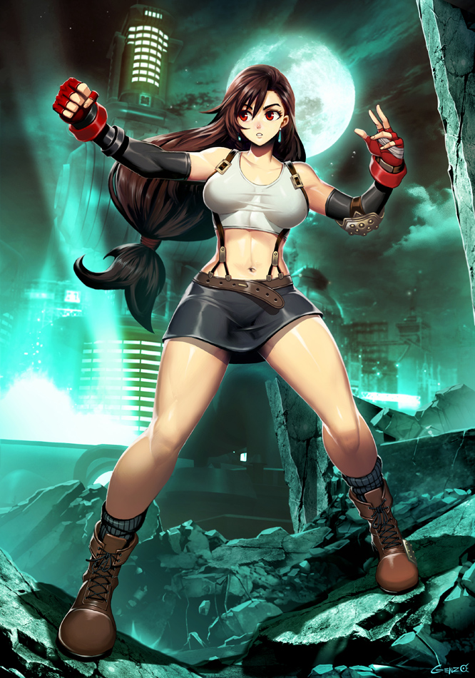 Tifa Lockhart By Genzoman Final Fantasy Vii Know Your Meme