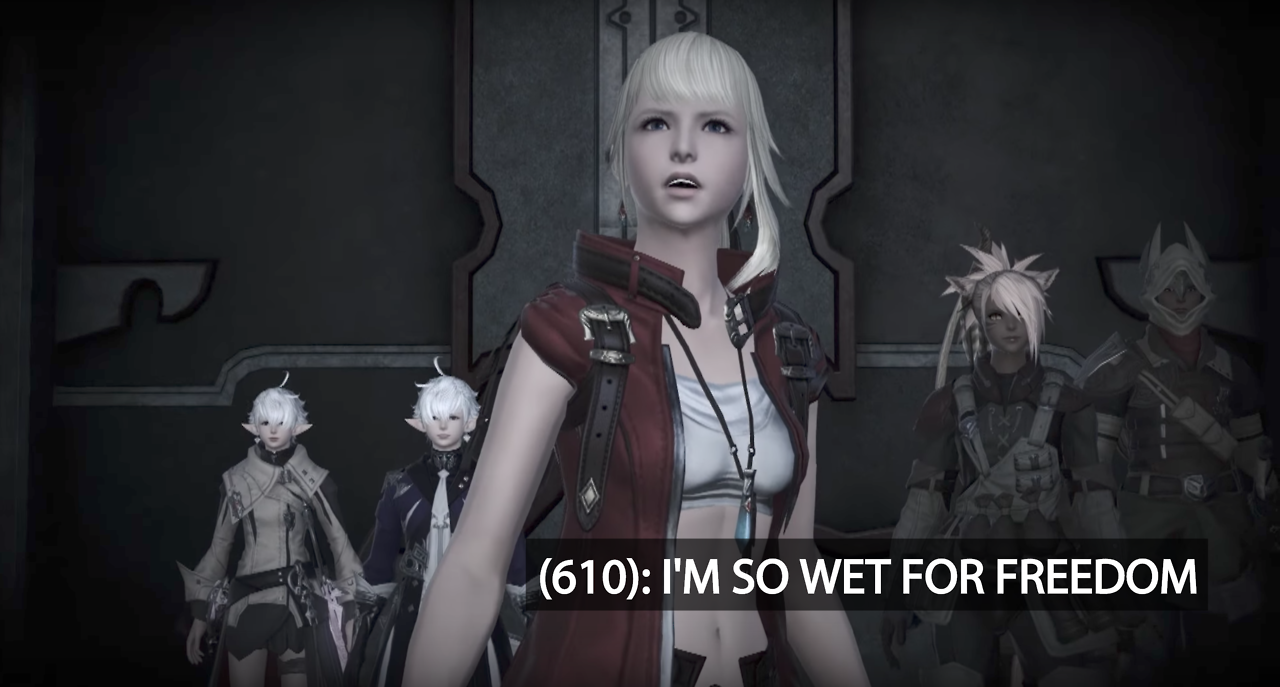 Texts From The Rising Stones Final Fantasy Xiv Know Your Meme