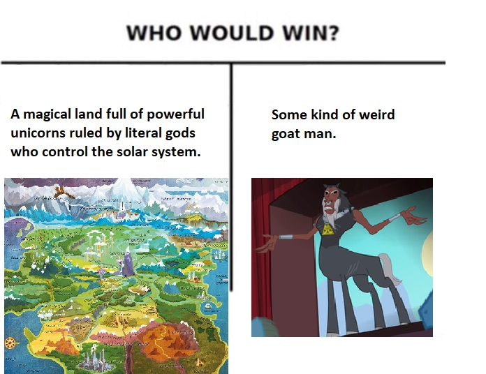 Who Would Win? | My Little Pony: Friendship is Magic | Know Your Meme