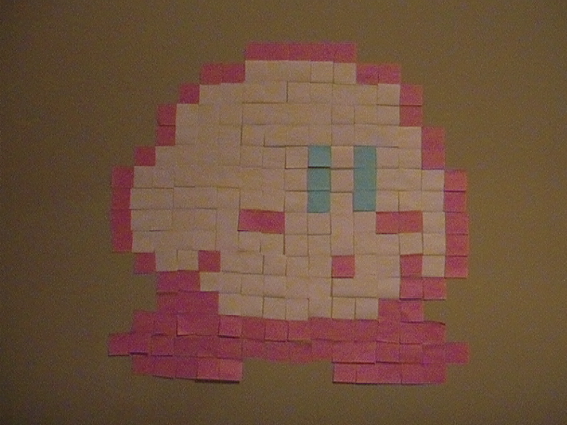 Sticky Note Kirby Pixel Art Know Your Meme