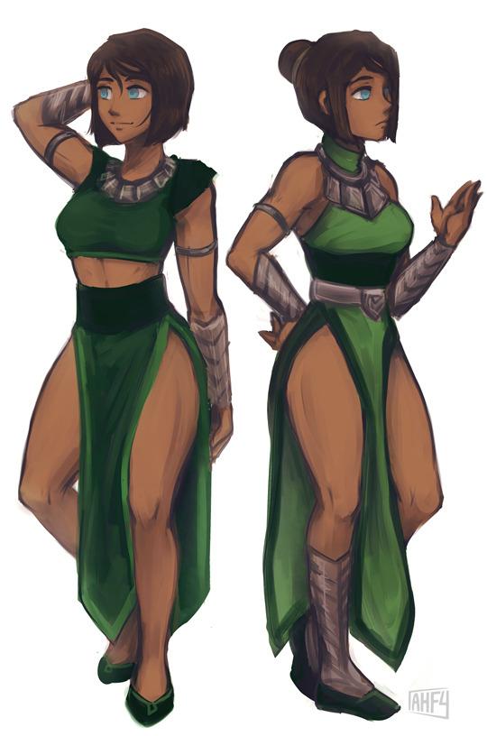 i wish korra had cute zaofu outfits avatar the last airbender