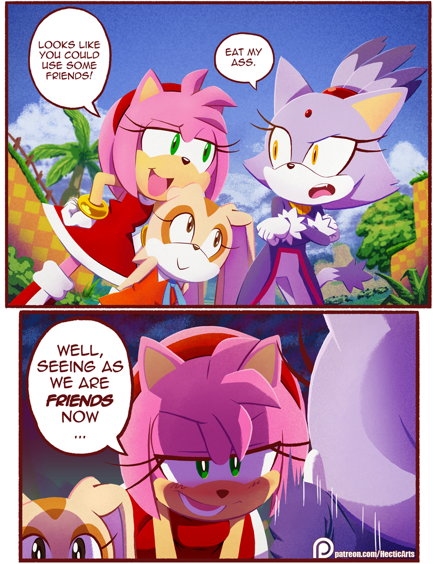 Somewhere In The Doujin World  Sonic The Hedgehog -8495