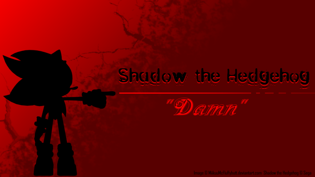 Shadow The Hedgehog Wallpaper Sonic The Hedgehog Know